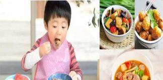 món ăn dinh dưỡng cho bé 3 tuổi