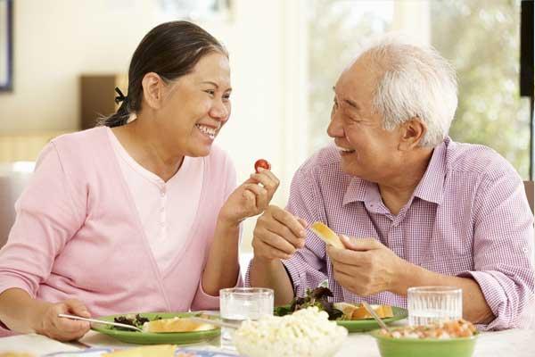 món ăn dinh dưỡng cho người già