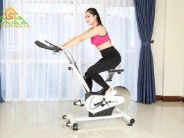 tập chạy xe đạp
