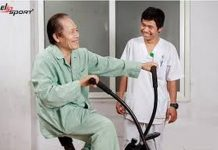 xe đạp tập thể dục cho người tai biến