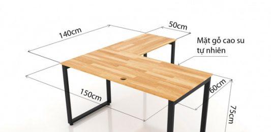 kích thước bàn để máy tính