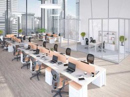 kích thước bàn văn phòng